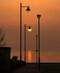 Streetlamp Sunset